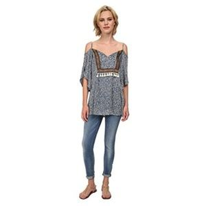 New Lucy Love Women's Kenzie Tunic Blouse